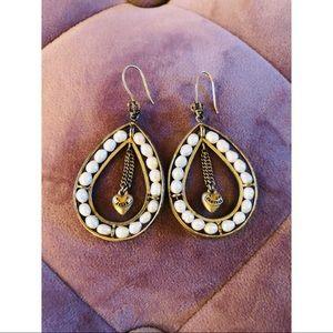 Juicy Couture Pearl Teardrop Earrings